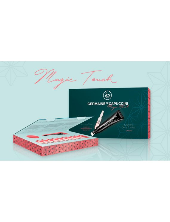 Pacck Magic Touch Contorno de ojos+ Ampollas Sleeping cure de Germaine de capuccini