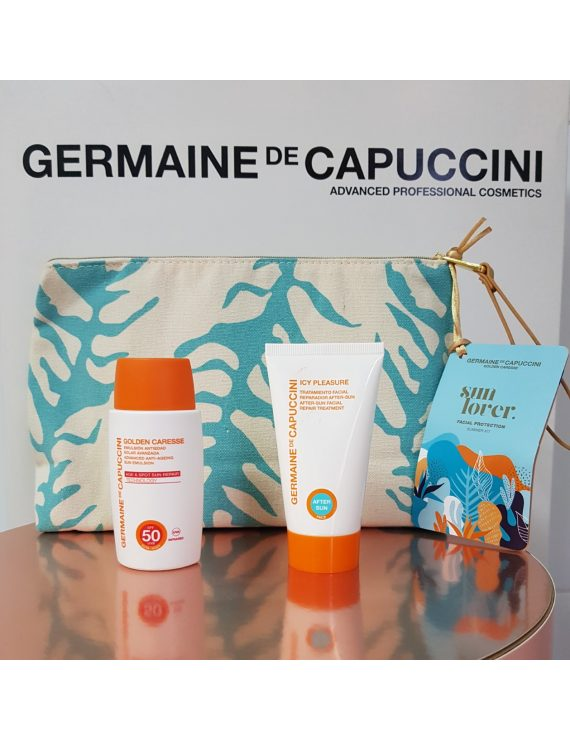 Pack Golden Caresse Emulsion Antiedad SPF 50  de Germaine de Capuccini