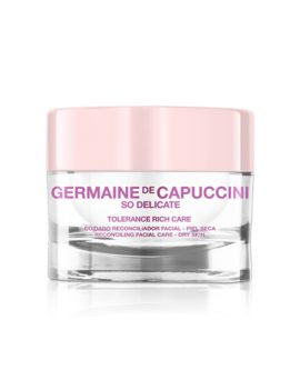 Crema So Delicate Tolerance Rich de  Germaine de capuccini