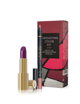 Kit labial everlasting color keenwell