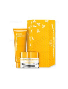 Pack  Royal Jelly crema real pro-resiliencia comfort de Germaine de capuccini